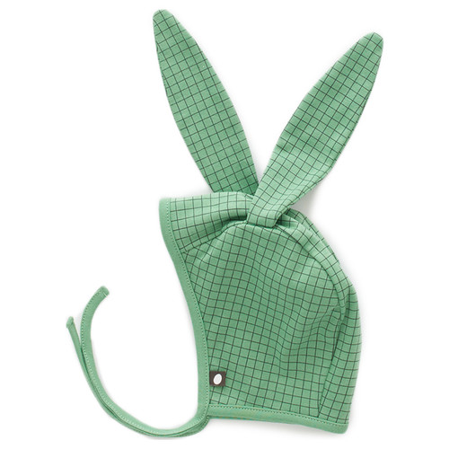 Oeuf Bunny Hat, Green Check