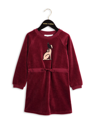 Mini Rodini Rabbit Velour Dress