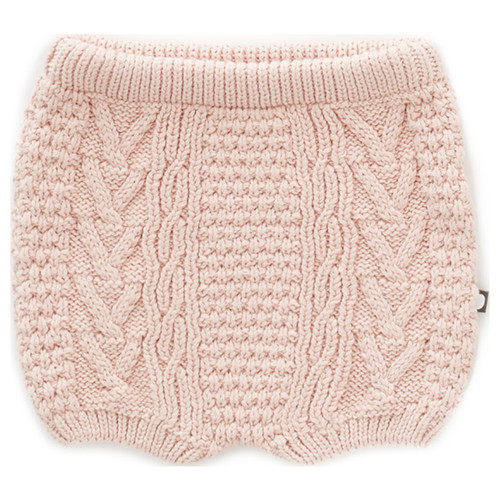 Oeuf Cable Knit Short, Almond