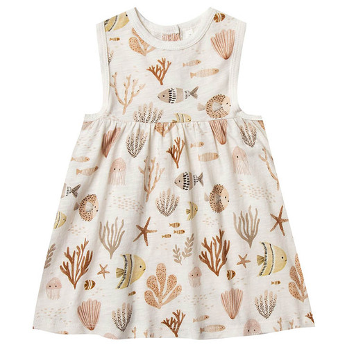 Rylee & Cru Layla Dress, Sea Life