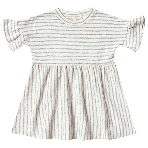 Rylee & Cru Baby Doll Dress, Sea Stripe