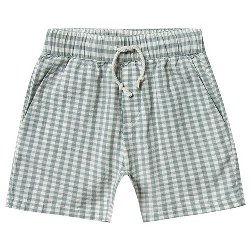 Rylee & Cru Drawstring Short, Gingham