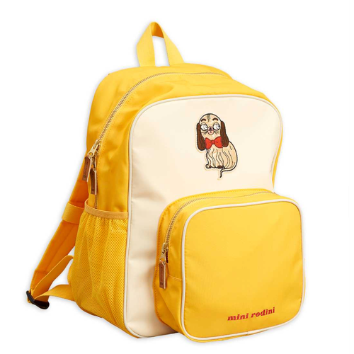 Mini Rodini Dashing Dog School Backpack
