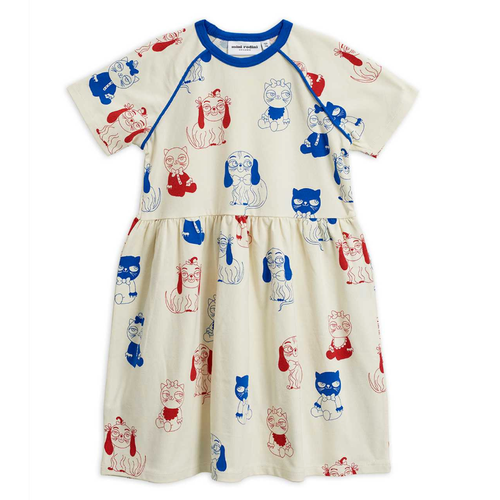 Mini Rodini Short Sleeve Dress, Minibabies