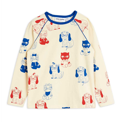Mini Rodini Long Sleeve Tee, Minibabies
