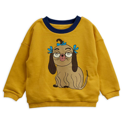 Mini Rodini Reversible Sweatshirt, Yellow