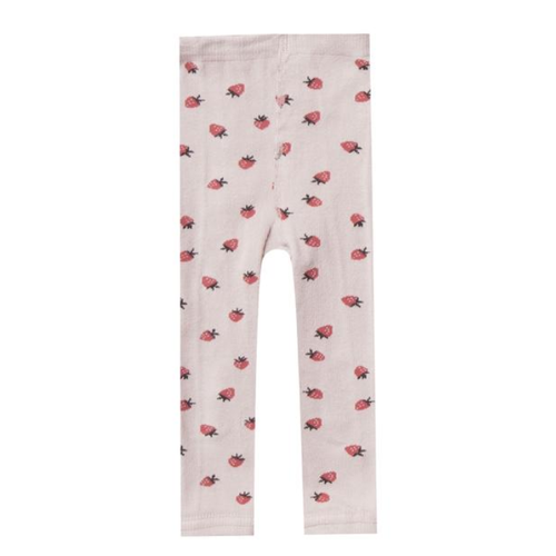 Rylee & Cru Knit Legging, Strawberry