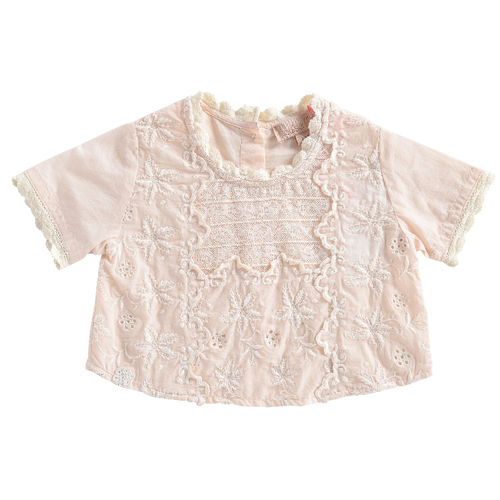 Veracruz Blouse, Blush