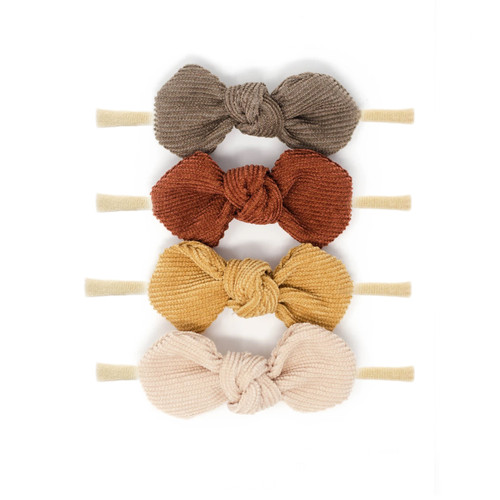Nylon Headband Bow Set, Fall