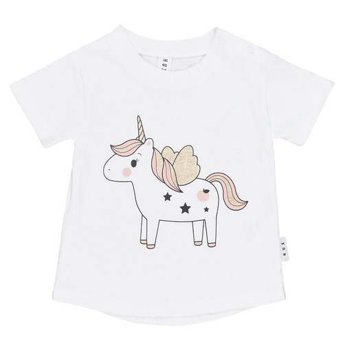 Organic Cotton Tee, Unicorn