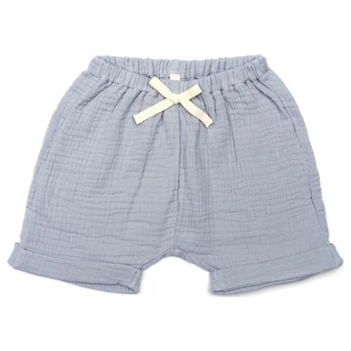 Gauze Shorts, Vintage Blue