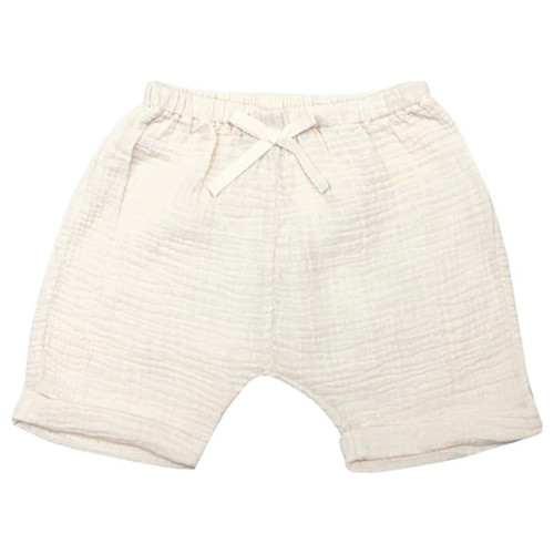 Gauze Shorts, Natural