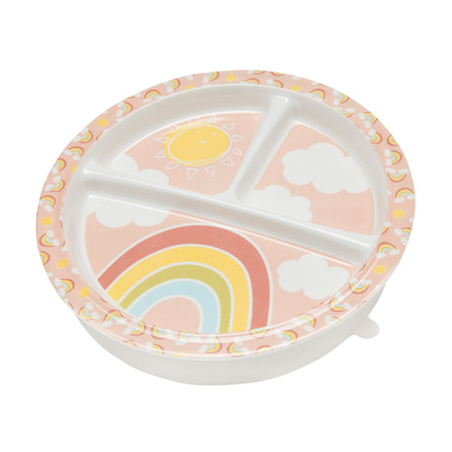 Divided Suction Plate, Rainbow
