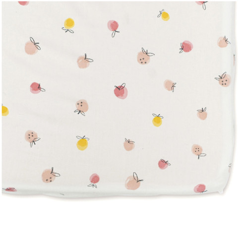 Strawberry Fields Crib Sheet