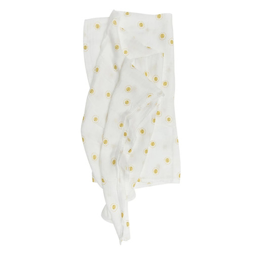 Luxe Muslin Swaddle, Rise & Shine