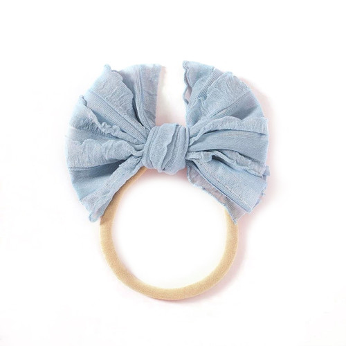 Vintage Skinny Bow, Dusty Blue