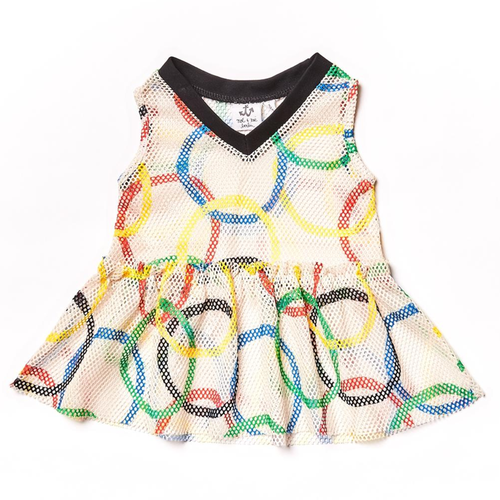 Baby Mesh Dress, Olympic Rings
