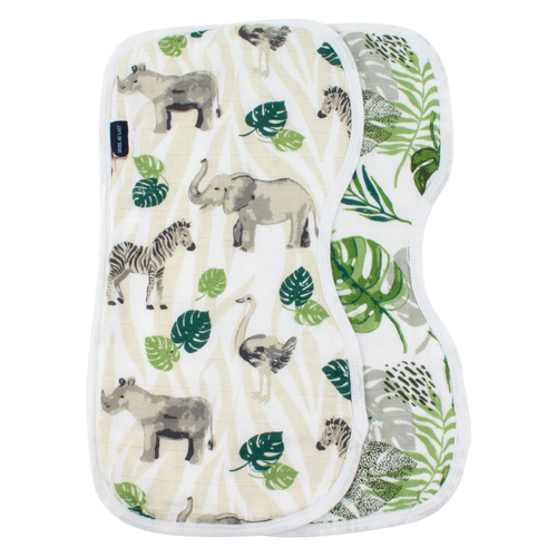 Burp Cloths, Jungle + Rainforest