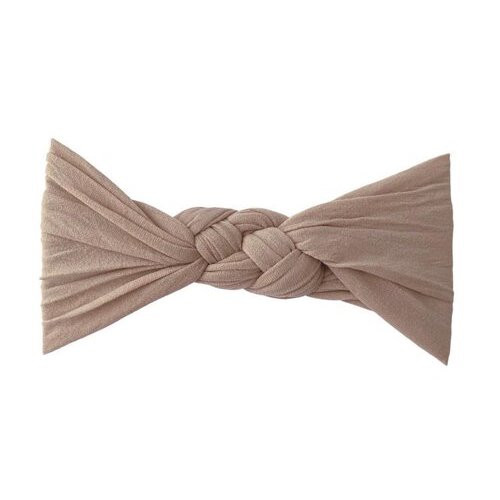Sailor Knot Bow, Latte