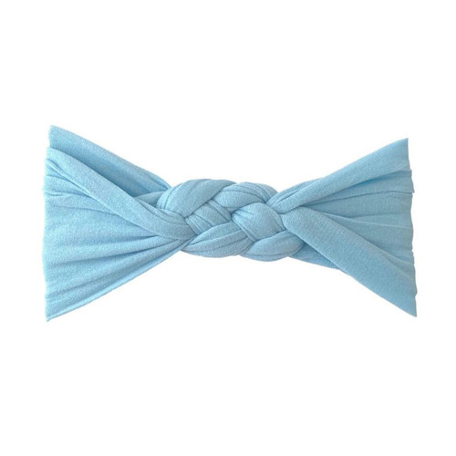 Sailor Knot Bow, Dusty Blue