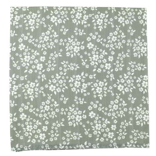 Muslin Swaddle, Whimsy Floral Green