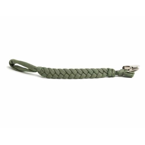 Softy Pacifier Clip, Seaweed