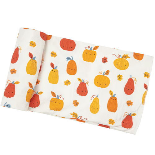 Bamboo Swaddle, Pumpkin Patch
