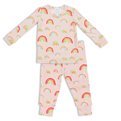 Pink Rainbows 2-Piece Set