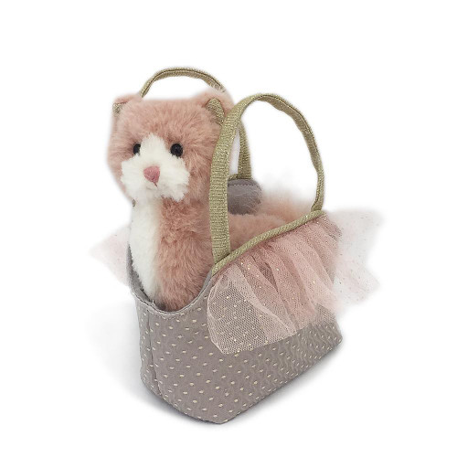 Callie Kitty Plush Toy & Purse