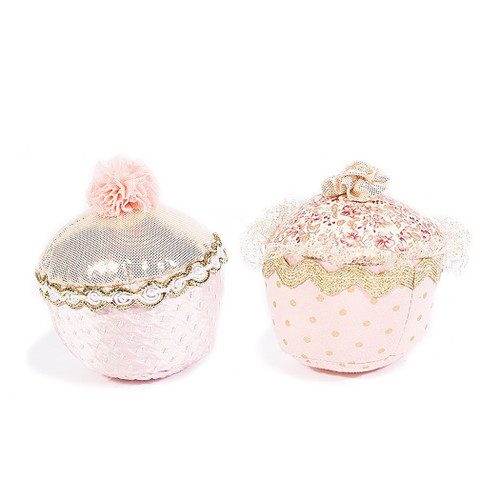 2-piece Cupcake Plush Toy Set