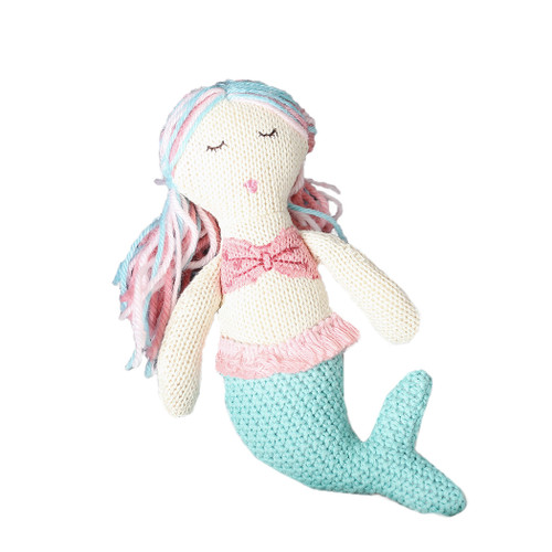 Knit Rattle, Mermaid