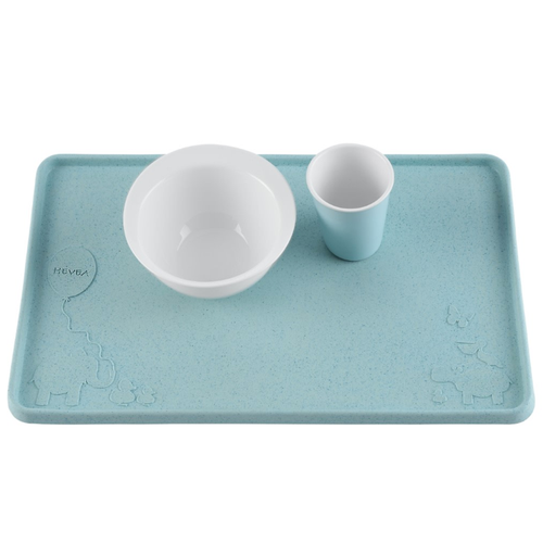 Hevea Upcycled Placemat, Blue