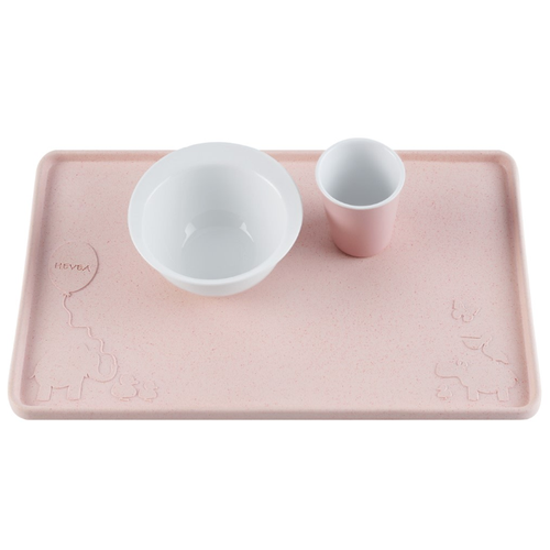 Hevea Upcycled Placemat, Peach