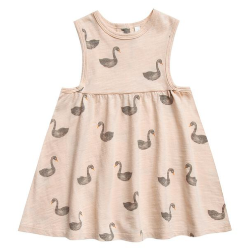 Rylee & Cru Layla Dress, Swans