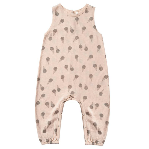 Rylee & Cru Mills Jumpsuit, Ice Cream