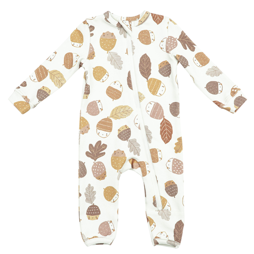 Zip Romper, Acorns