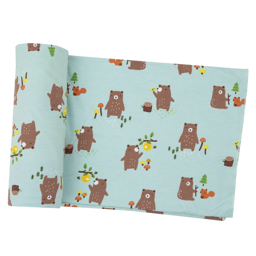 Bamboo Swaddle, Baby Bears