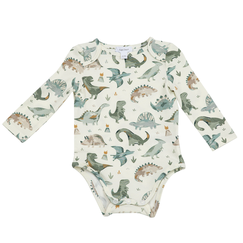 Long Sleeve Bodysuit, Dinosaur