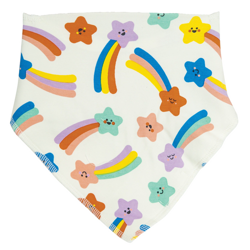 Bandana Bib, Shooting Stars Multi