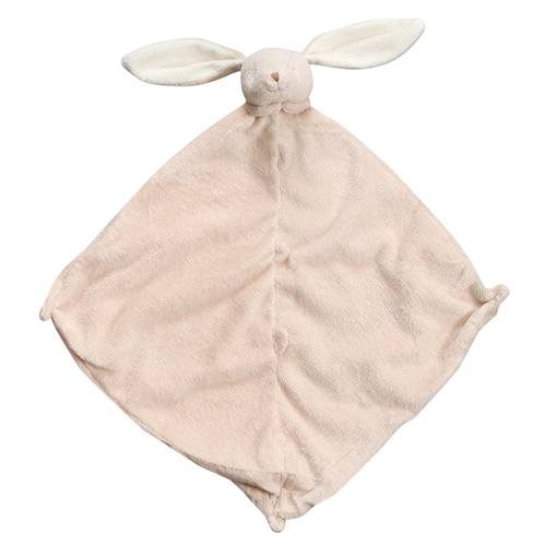 Tan Bunny Security Blankie