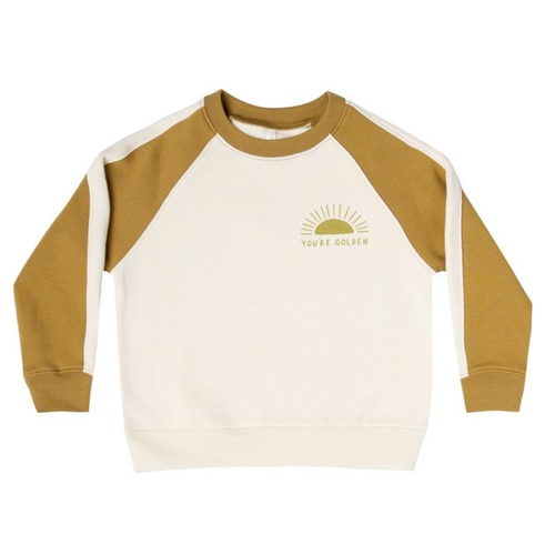 Rylee & Cru Raglan Sweatshirt, You're Golden