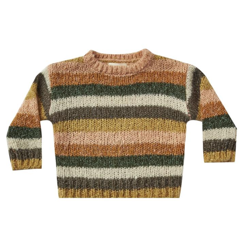 Rylee & Cru Aspen Sweater, Multi Stripe