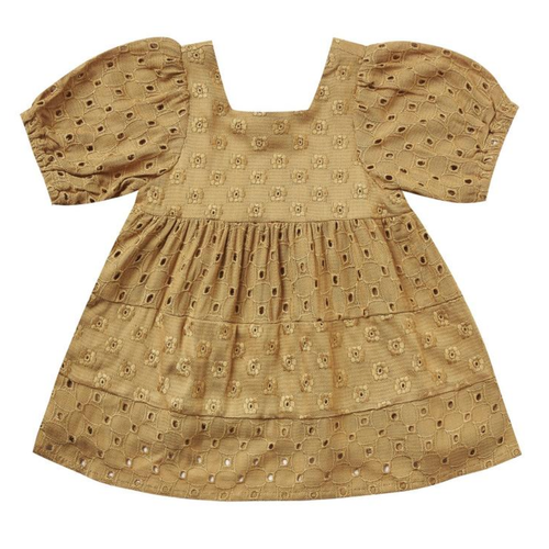 Rylee & Cru Gretta Baby Doll Dress, Goldenrod