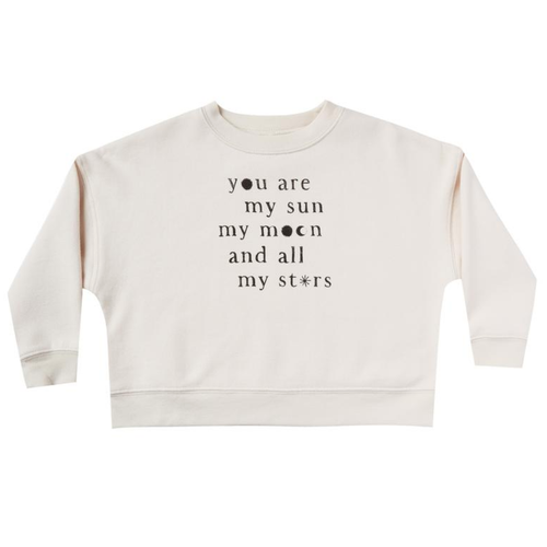 Rylee & Cru Boxy Pullover, You Are My Sun