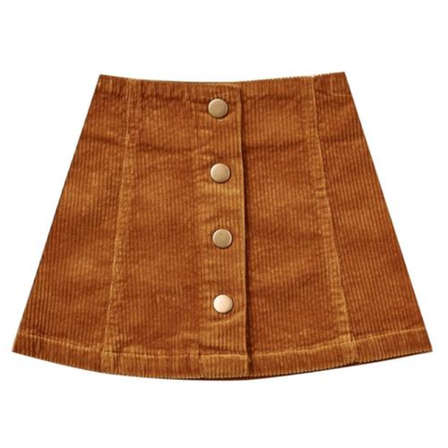 Rylee & Cru Mini Skirt, Cinnamon