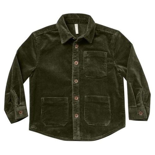 Rylee & Cru Collared Shirt, Forest