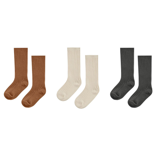 Rylee & Cru Knee Socks, Set of 3