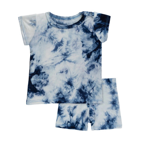 2-Piece Set, Navy Tie Dye