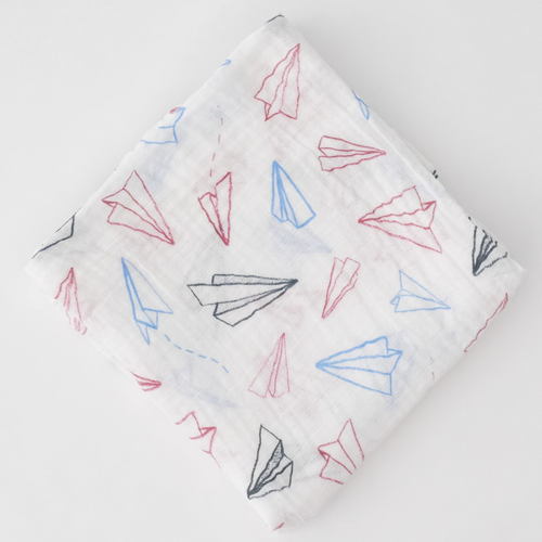 Muslin Swaddle, Paper Planes