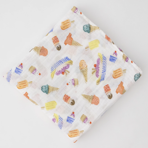 Muslin Swaddle, Ice Cream Parlour